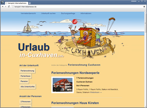 Cuxhaven Webdesign - Website - CMS - SEO - WordPress - HTML