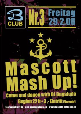 Flyer für Tanzparty