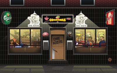 Illustration für Kneipe / Cocktailbar