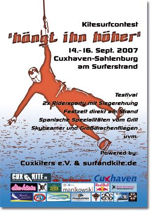 Flyerdesign - Kitesurfen - Cuxhaven