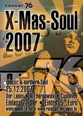 Flyer für Tanzveranstaltung in Cuxhaven
