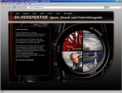 Webdesign für Fotografen in Cuxhaven