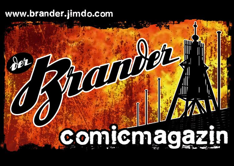 Illustration für Comicmagazin