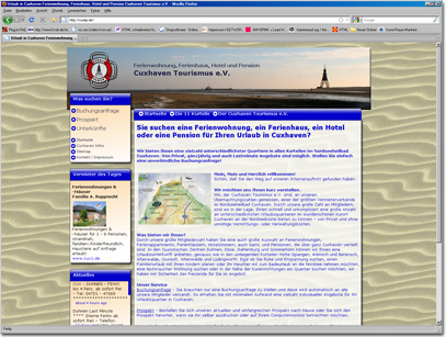 Webdesign für Vermieterportal - SEO