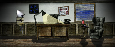 Illustration Büro