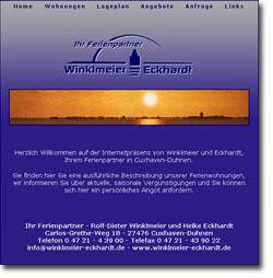 Webdesign HTML Programmierung Cuxhaven
